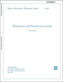 Biodiversity and National Accounting