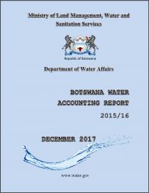 Botswana Water Accounting Report 2015/16