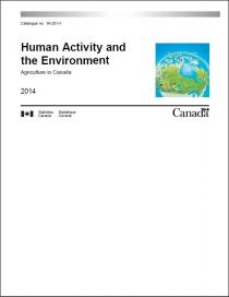 Human Activity and the Environment: Agriculture in Canada