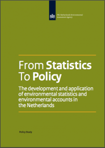 From Statistics To Policy: The development and application of environmental statistics and environmental accounts in the Netherlands