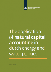 The application of natural capital accounting in dutch energy and water policies