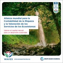 Valorar el capital natural para un desarrollo sostenible