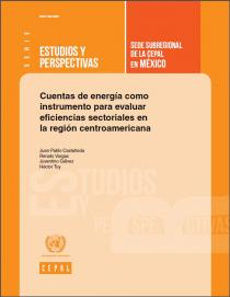 Energy Accounts as a Tool to Evaluate Sectoral Efficiencies in Central America