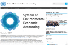 System of Environmental Economic Accounting (SEEA)
