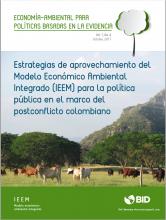 Estrategias de aprovechamiento del Modelo IEEM para la política pública en el marco del postconcto colombiano