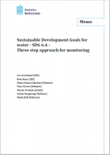 SDGs for water – Three step approach for monitoring