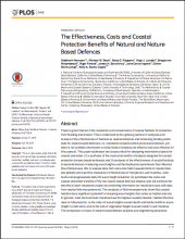 The Effectiveness, Costs and Coastal Protection Benefits of Natural and Nature-Based Defences