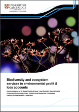 Biodiversity and ecosystem services in environmental profit & loss accounts