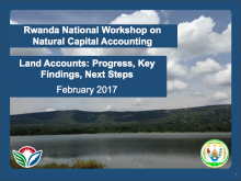 Presentation from the Rwanda National Workshop on Natural Capital Accounting Land Accounts: Progress, Key Findings, Next Steps