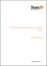 New Zealand environmental-economic accounts: 2018