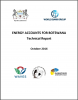 Energy Accounts for Botswana: Technical Report