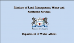 Botswana Water Accounting Report 2015/16
