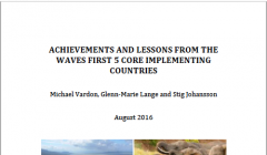 Achievements and Lessons from the WAVES First 5 Core Implementing Countries